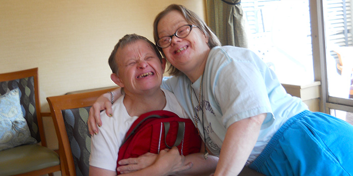 Adults with downs syndrome please